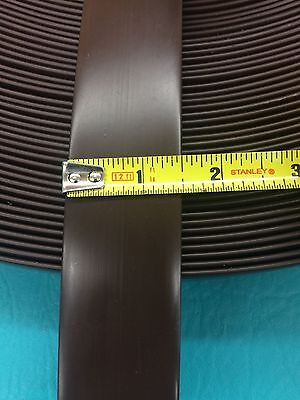 "10' Vinyl 1.5"" Chair Strap Strapping Outdoor Patio Furniture Repair Brown 1 1/2"""