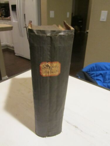 Surgery Homoeopathic Book c1879 Helmuth 4th ed. 568 Wood Cuts RARE Original