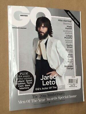 GQ Gentlemen Quarterly British UK Jared Leto October 2017 FREE EXPEDITED