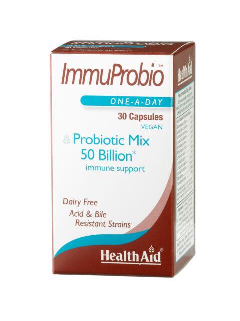 Health Aid ImmuProbio (50 billion) 30 Vegicaps