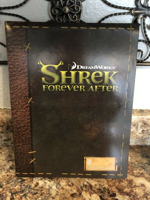 General Mills Box set toys Shrek Forever After Water Squirters and Neon Markers