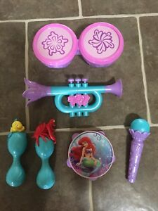 Little mermaid music toys