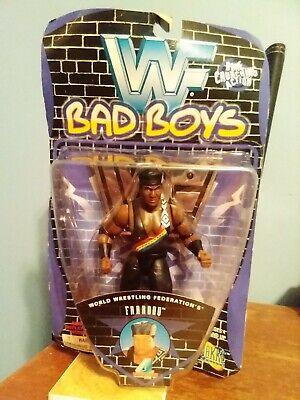 JAKKS/WWF Bad Boys Series 4 Faarooq Action Figure used 1997