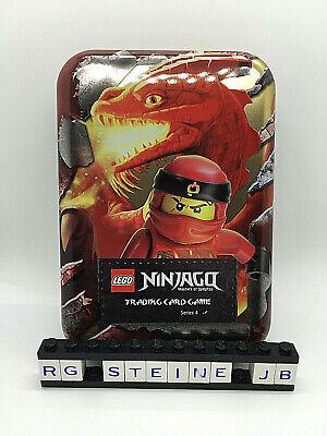 Lego Ninjago Serie 4 Trading Card Game Tin - Rot Ninjago