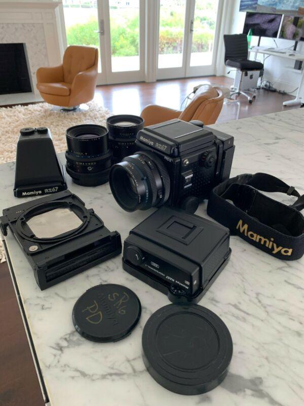 Mamiya RZ67 Pro IIGreat condition, prism, 3 lens, 2 film backs, polaroid back