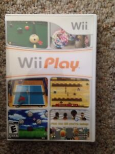 Wii Play Nintendo Wii Video Game Like New