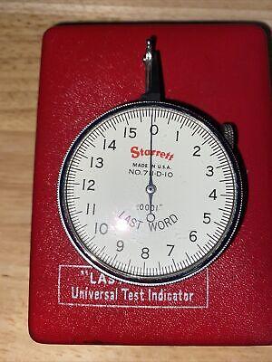 Starrett Last Word Universal Test Indicator No. 711-d10 New