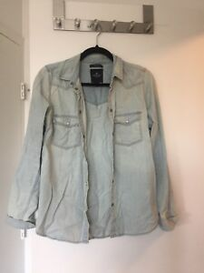 American Eagle denim shirt size small