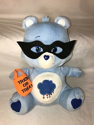 "Care Bears Grumpy Bear 10"" Plush Halloween Blue - Care Bears Halloween"