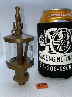 Essex Brass Corp Oiler Hit Miss Gas Engine Steampunk Vintage Antique