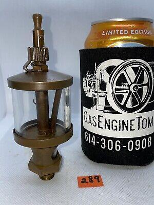 Essex Brass Corp Oiler Hit Miss Gas Engine Steampunk Vintage Antique