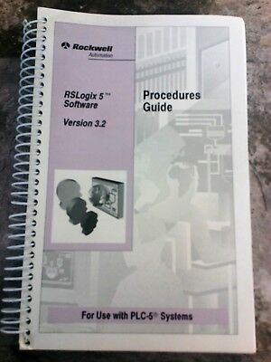 Allen Bradley Rockwell Automation Rslogix 5 Software V. 3.2 Procedures Guide