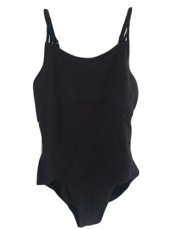 Ivivva Lululemon Girls Black Bodysuit One Piece Size 10