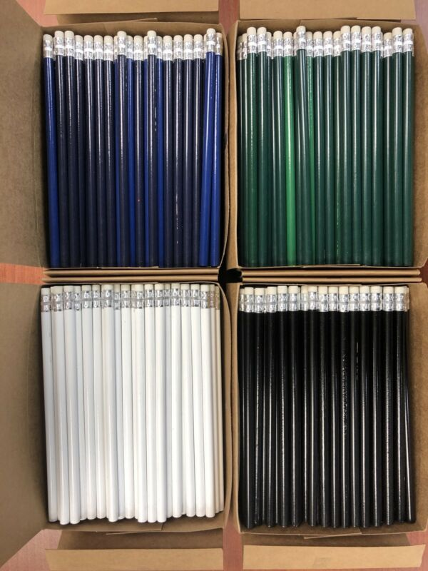 Pencils. Factory Seconds. No. 2 Pencils. Lot Of 576 pc.