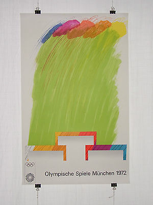 Poster Plakat - Olympiade 1972 München - Richard Smith - Moderne