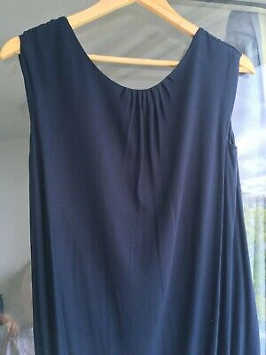 Women Hoss Intropia blue viscose dress size XS - used but good condition