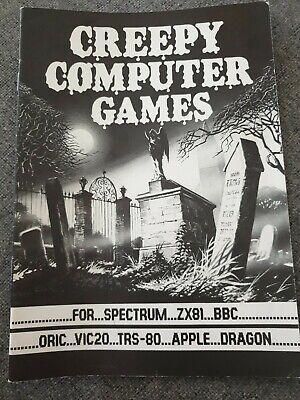 C64 APPLE Vic-20 Creepy Computer Games scholastic program booklet