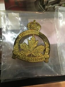 Canadian army cadets hat badge