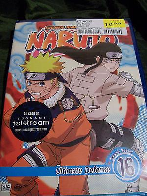 Naruto - Vol. 16: Ultimate Defense (DVD, 2007, Dubbed)