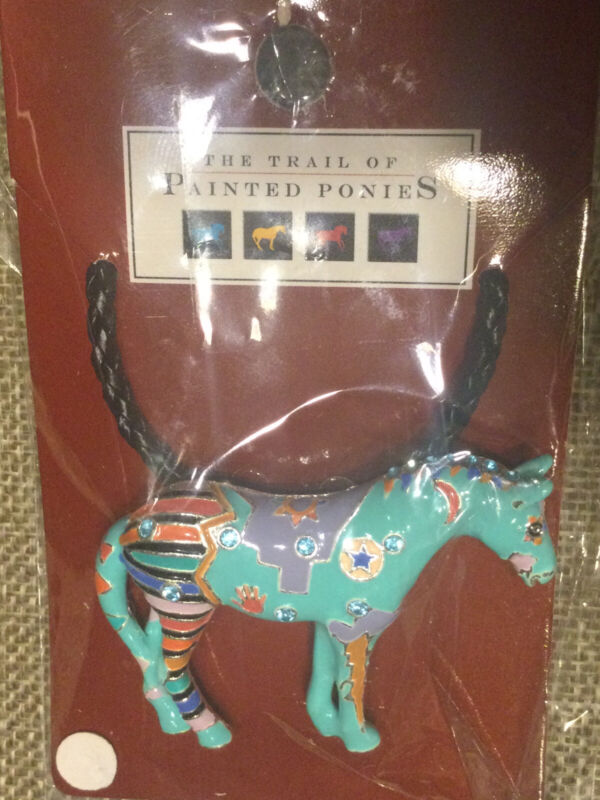 Necklace/Brooch The Trail Of Painted Ponies, Spirit War Pony