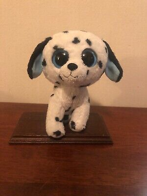 "- Ty Beanie Boos Fetch Dalmatian Dog Small 6"" Tall Toy no Tag Gently Loved"