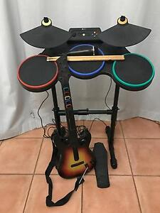Xbox 360 Guitar Hero equipment bundle North Adelaide Adelaide City Preview