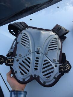 Motorbike riding chest plate