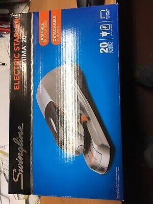 Swingline Electric Stapler Optima20 Silver48208