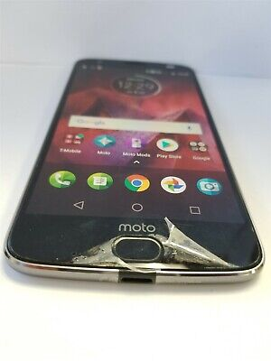 Motorola Moto Z2 Force 64gb Gray XT1789-04 (T-Mobile) Discounted NW2131
