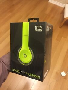 Beats Solo 2 Wireless Active Collection Brand New