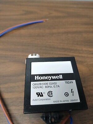 Honeywell Q652b1006 120 V Gas Ignition Transformer