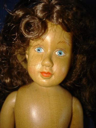 "Signed Robert Raikes Wood AMERICAN KIT COMPANY 8"" Doll 2002 China Hitty Friend"