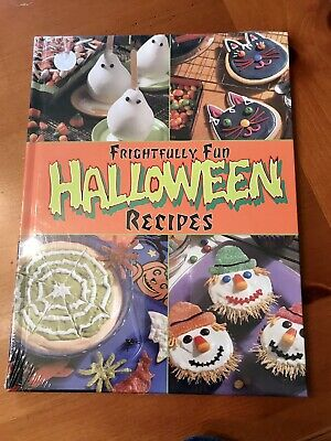 NEW Halloween Recipes Hardcover Book Sealed In Packaging Fall Bake Cookies - Halloween Recipes Treats