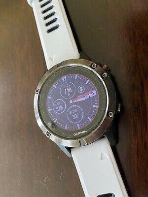 Garmin Fenix 5 Sapphire Crystal Stainless Steel GPS Multi-Sport Watch