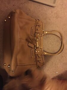 Leather couch purse