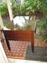 ROBUST SOLID TIMBER FOUR-DRAWER DESK Chatswood Willoughby Area Preview