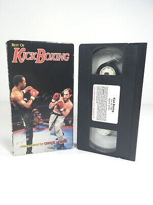 Best of Kick Boxing VHS 1992 Commentary by Chuck Norris Kickboxing Martial (Best Kicking Martial Arts)