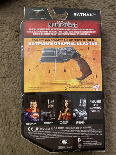 DC Comics Multiverso Batman V Superman Batman LOTE Knightmare Armored Batman NIB
