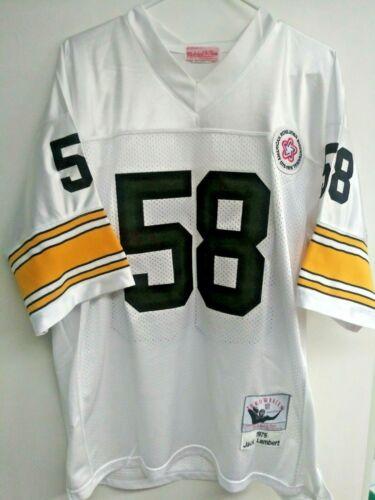 Jack Lambert jersey by Mitchell and Ness size 50
