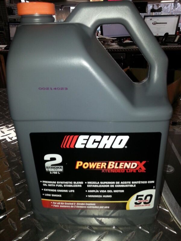 Echo One Gallon Bottles 2 Cycle Engine Oil Mix  Power Blend 6450050 50