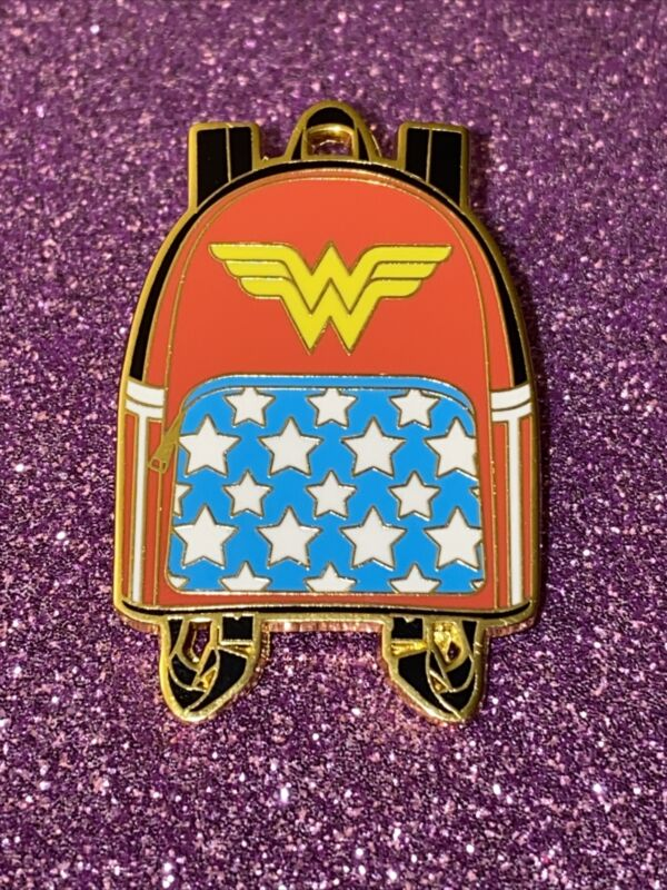 Wonder Woman Backpack Pin DC Comics Blind Box Loungefly Mystery