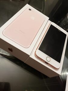 Like new iphone7 32gb rose gold