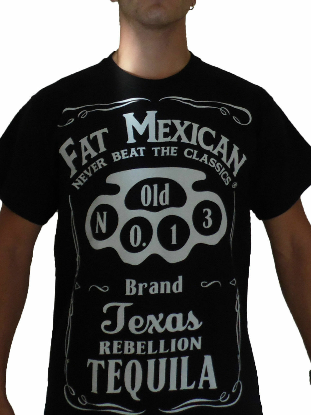 T-Shirt Fat Mexican Tequila Bandidos MC SYLB Support BFFB Harley Davidson 3XL