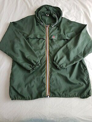 K-Way Mens Lightweight Jacket XL XXL Vintage Casual