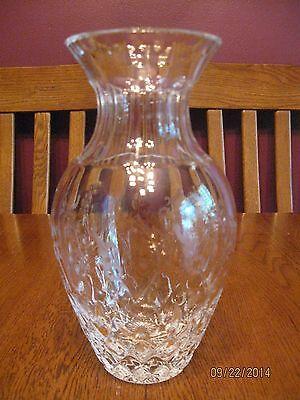 """Beautiful Rogaska Gallia 8"""" Flared Crystal Vase"""