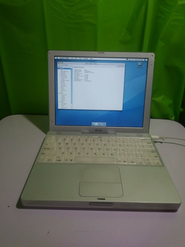 IBOOK G3 500 MHZ 256MB RAM 10gb HD BOOTS WORKING ***PLEASE READ***