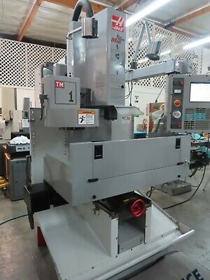 Haas Tm-1 Cnc Milling Machine With 10 Station Tool Changer
