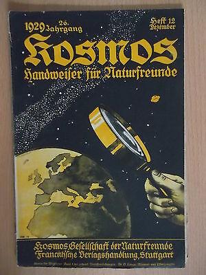 Kosmos.Handweiser für Naturfreunde 1929/12.Riesensteingräber.Sojabohnen