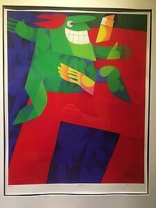 Claude Le Sauteur RCA Canadian Art Print 178/300 Gatineau Ottawa / Gatineau Area image 2