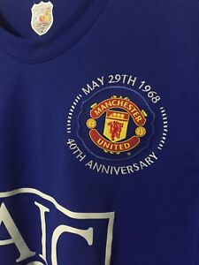 Authentic Manchester United 40th Anniversary Jersey & Jacket